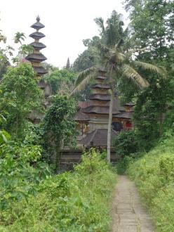 Temple in the rice paddies, Ubud