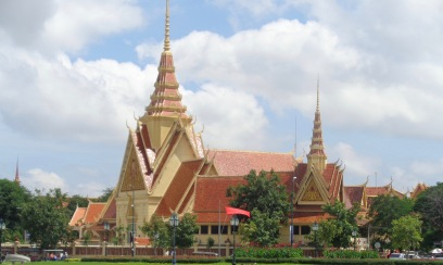 Temple around the Palace, Phnom Penh