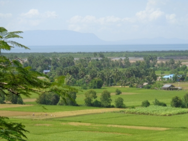 Countryside area Kampot