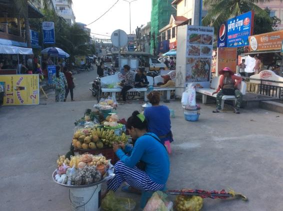 Beach area of Sihanoukville